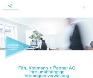Referenz Fäh, Kottmann und Partner
